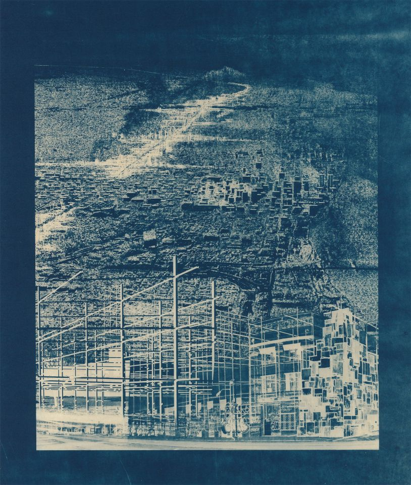 Michael Jacobs - Cyanotype