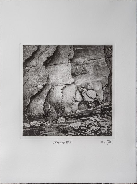 Carles Mitjà - Photogravure on Copperplate (Heliogravure)