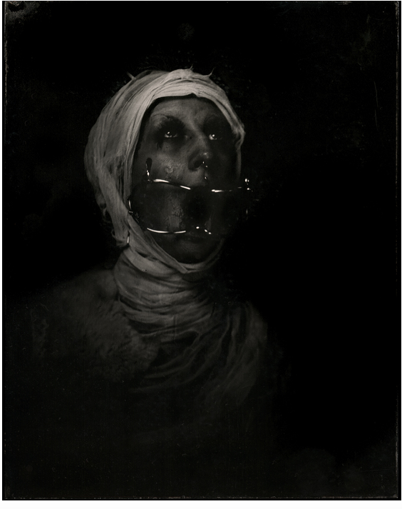 Stephen Robinson & Libby Bulloff - Wet Plate Collodion Tintype