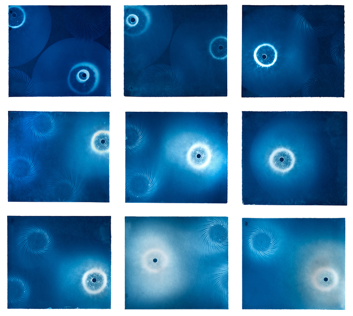 Kathryn Yarrington - Cyanotypes