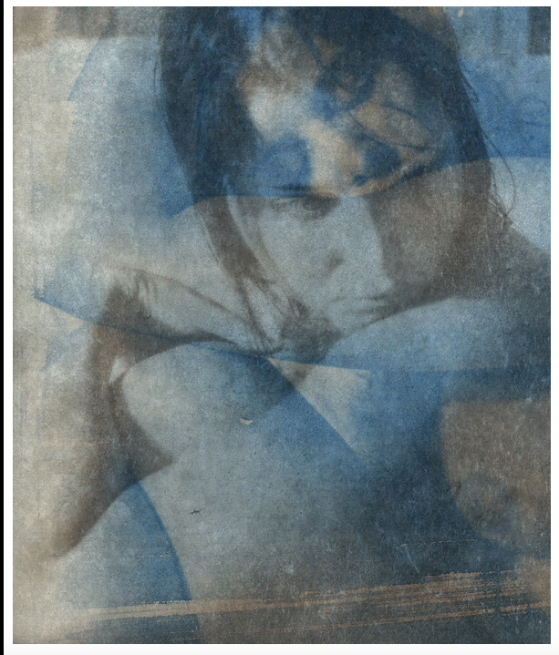 Alayna Smith - Cyanotype/Van Dyke Print/Encaustic