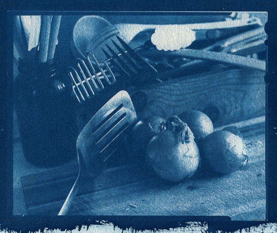 Janat Horn - Cyanotype on paper