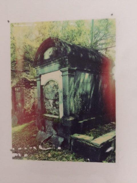 Leslie Bellsey - Faux transfer print on translucent paper
