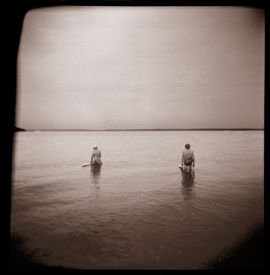 Paula Kelly - Noodle Ladies, Holga