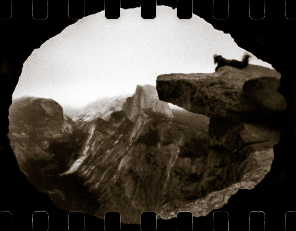 Andras Ladai - Timeless motion VII, Flipped Lens, Brownie Hawkeye