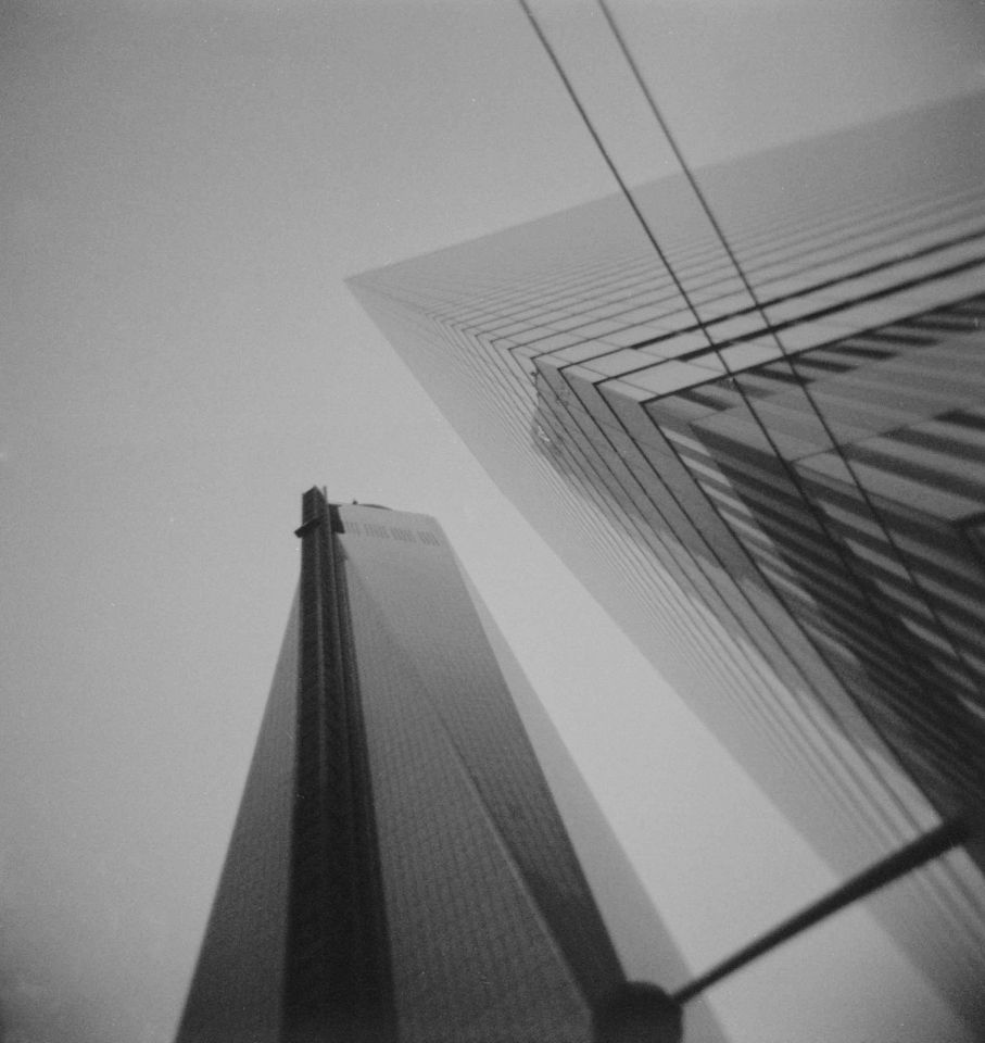 Kate Oiseau - One World Trade, Holga 120N