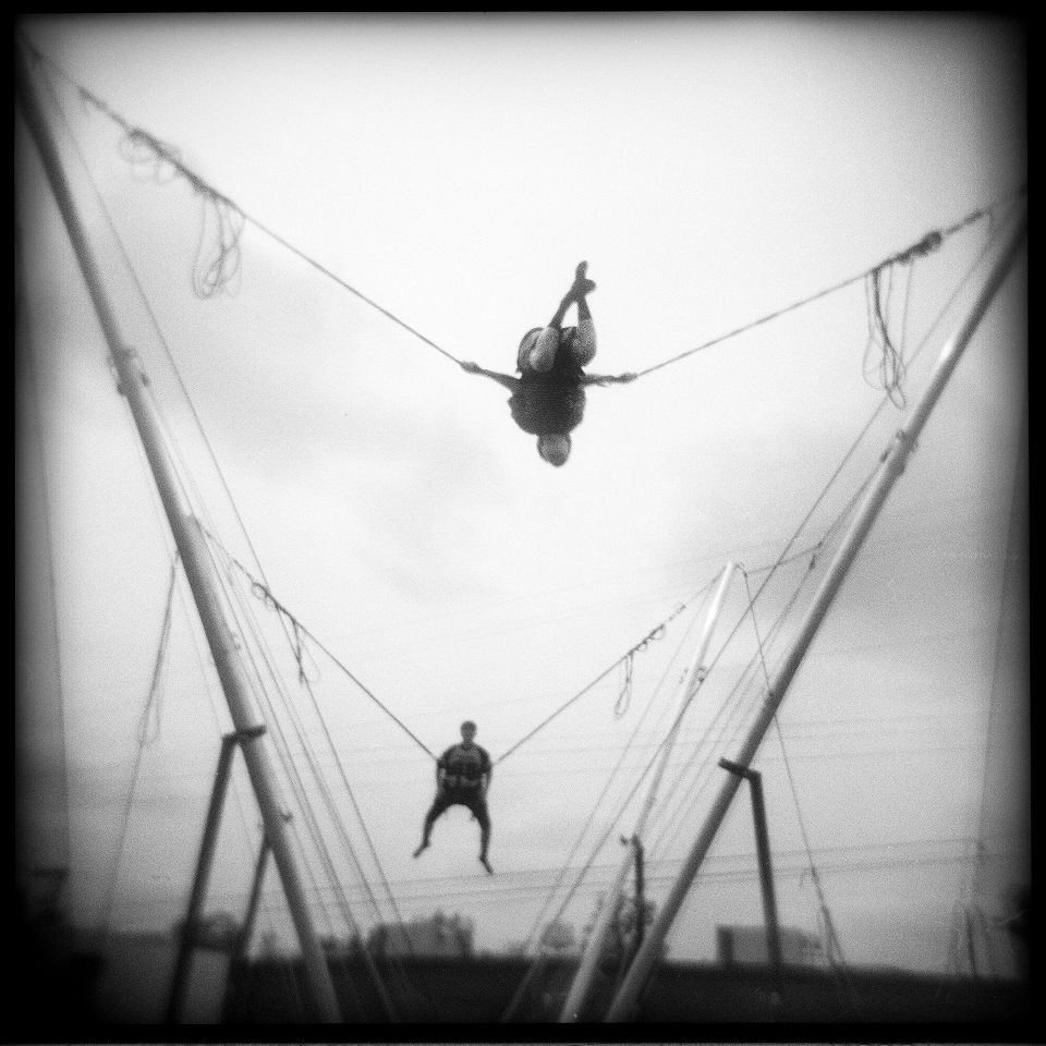 Betty Press - Carnival Ride Pontotoc, Mississippi, Holga 120N