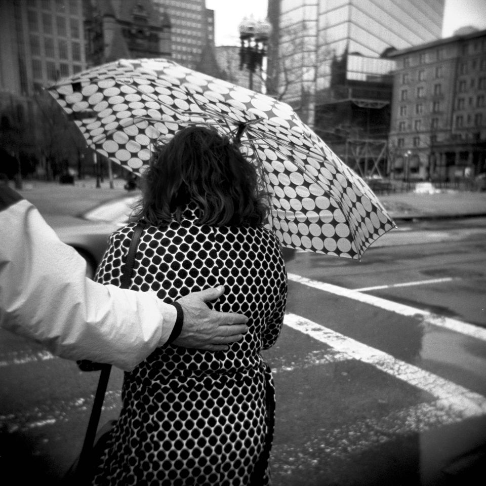 Gregory Russo - Polka Dot Lady, Holga