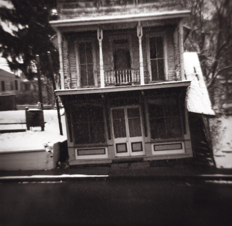 Ed Shrider - Appalachia Dream, Shawnee Leaning Building, 1970s Diana