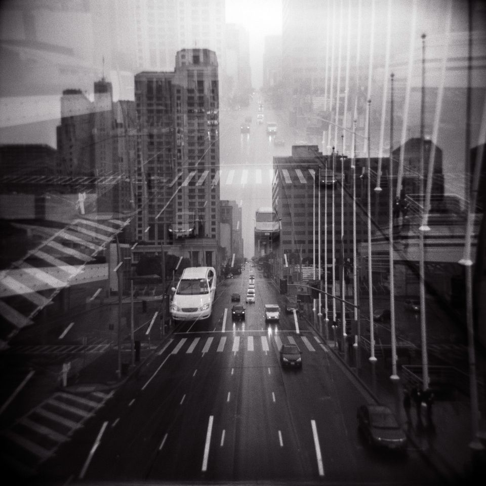 Jacqueline Walters - Here and Elsewhere, Holga