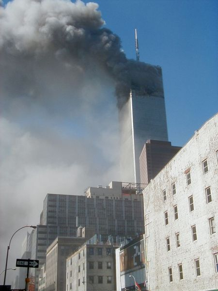Alone , The North Tower Burns