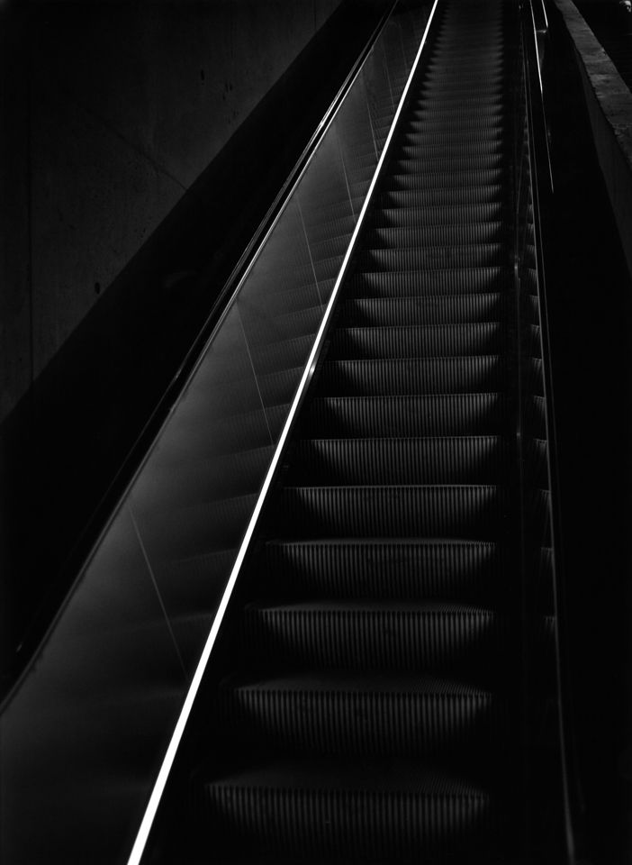 911 Museum Escalator