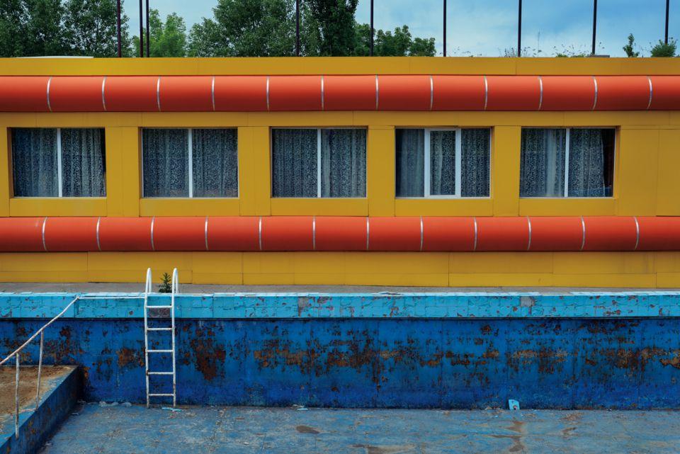 "Retro #7366; Water Park, Chimgan,Uzbekistan; May 2014; 41°31'29"" N 70°1'9"" E"