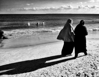 Burqas at Coney Island