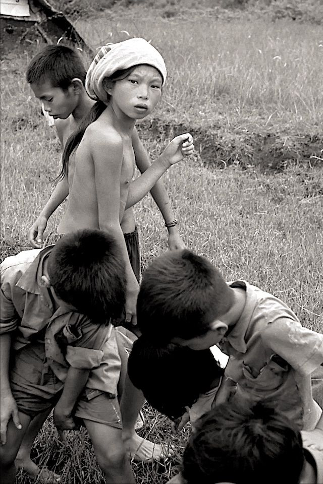 Children Near Long Binh
