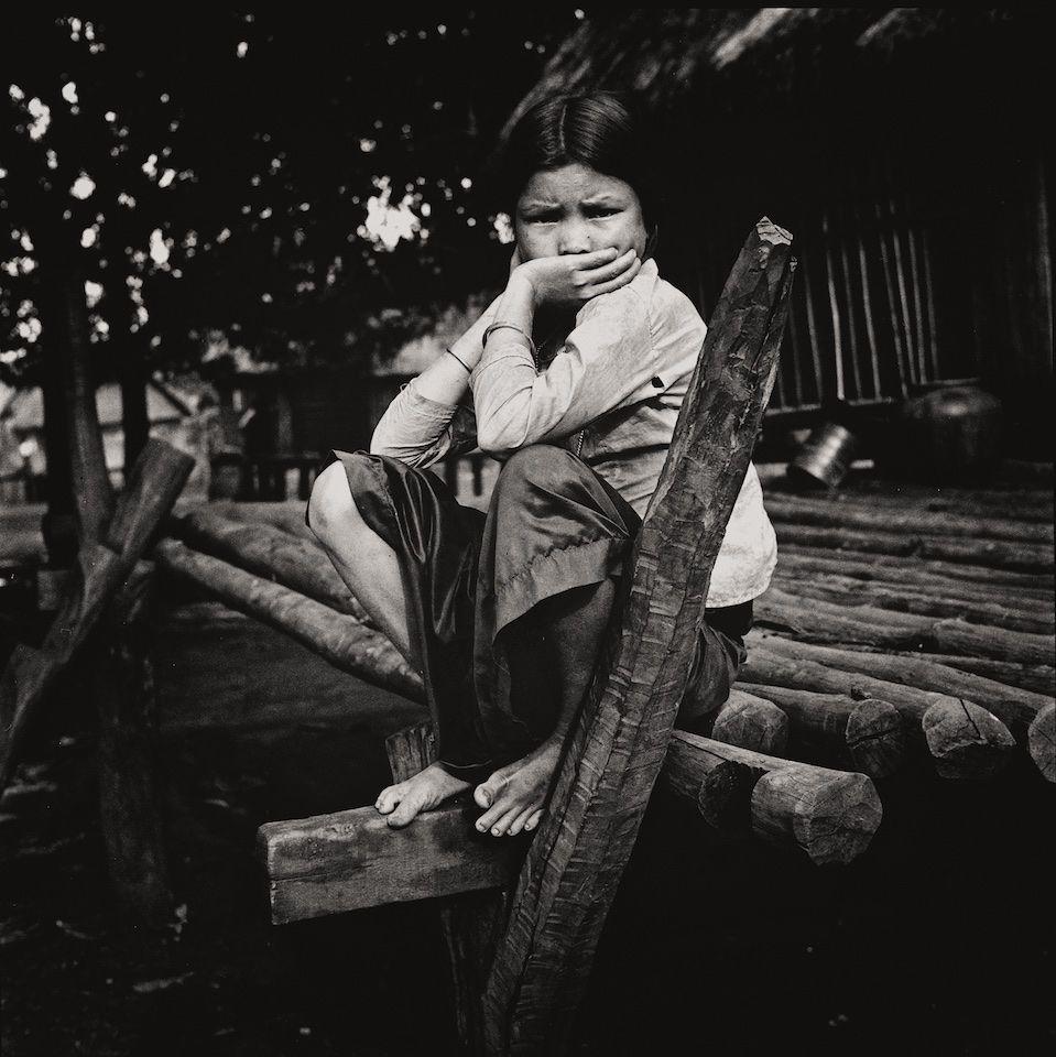 Montagnard Village Woman 1969