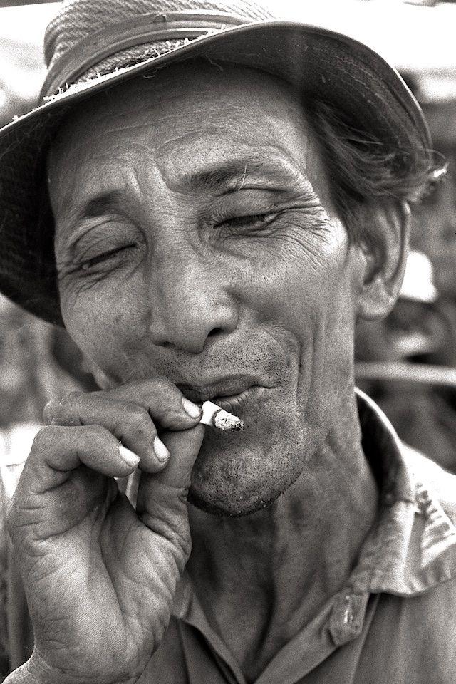 Man on Saigon Street 1970