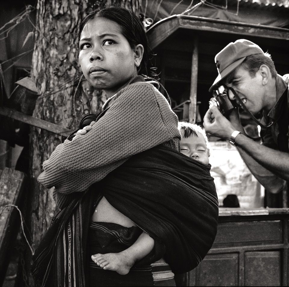 Montagnard Woman & Child