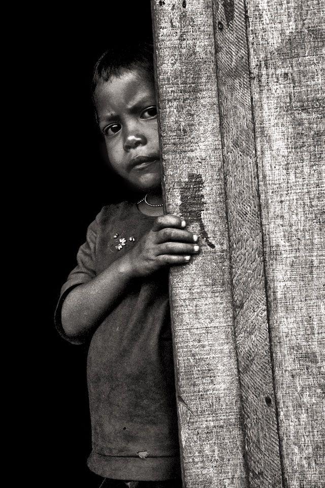 Montagnard Boy Resettlement Camp Near Pleiku