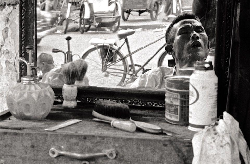 Sidewalk Barber #2 Saigon