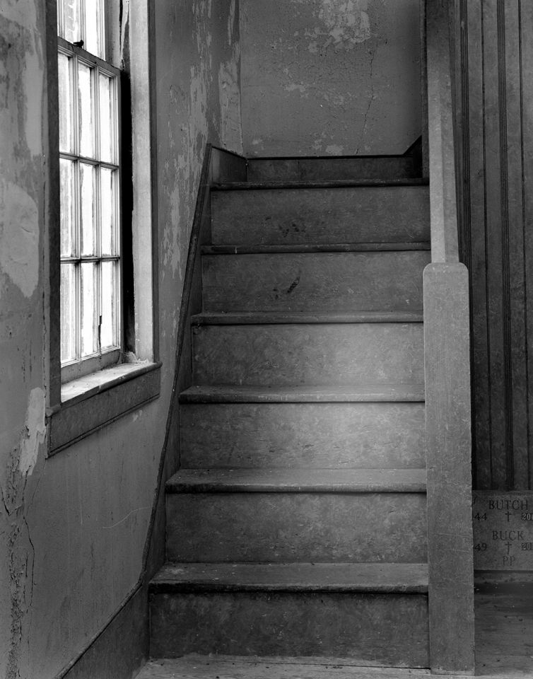 Stairs at Bevan's Church