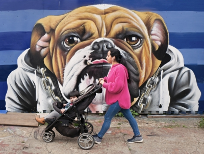 Baby Carriage & Tongue, Bushwick