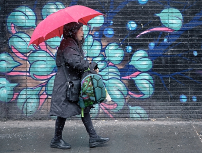 Pink Umbrella, Eldridge Street