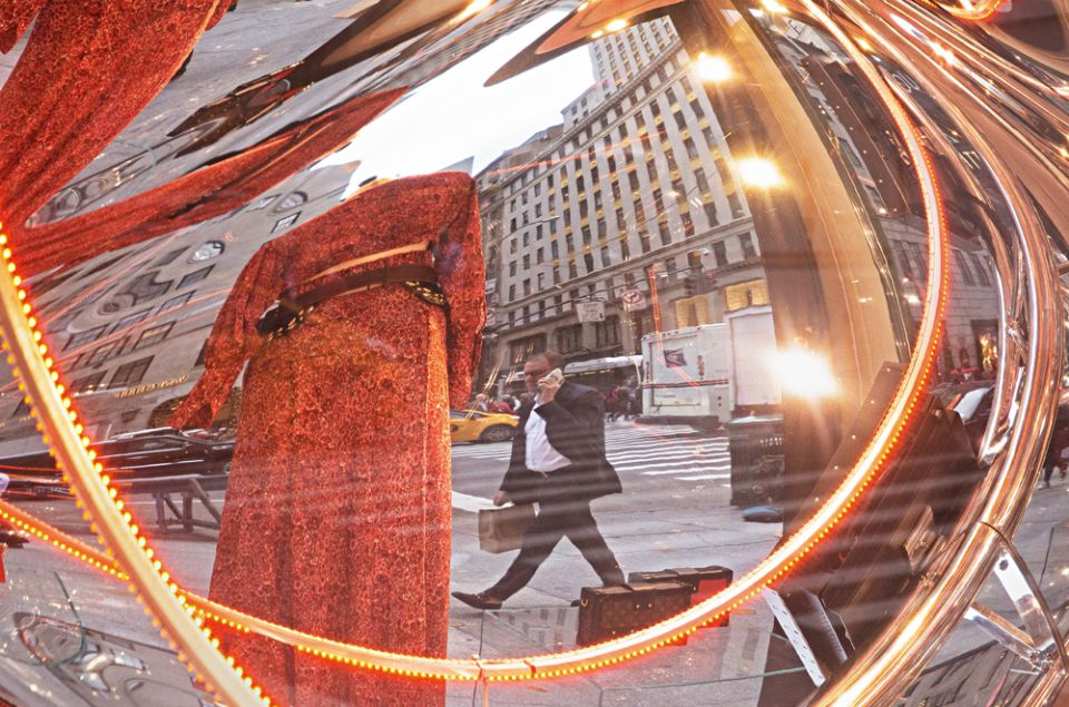 Parabolic Reflections Fifth Avenue