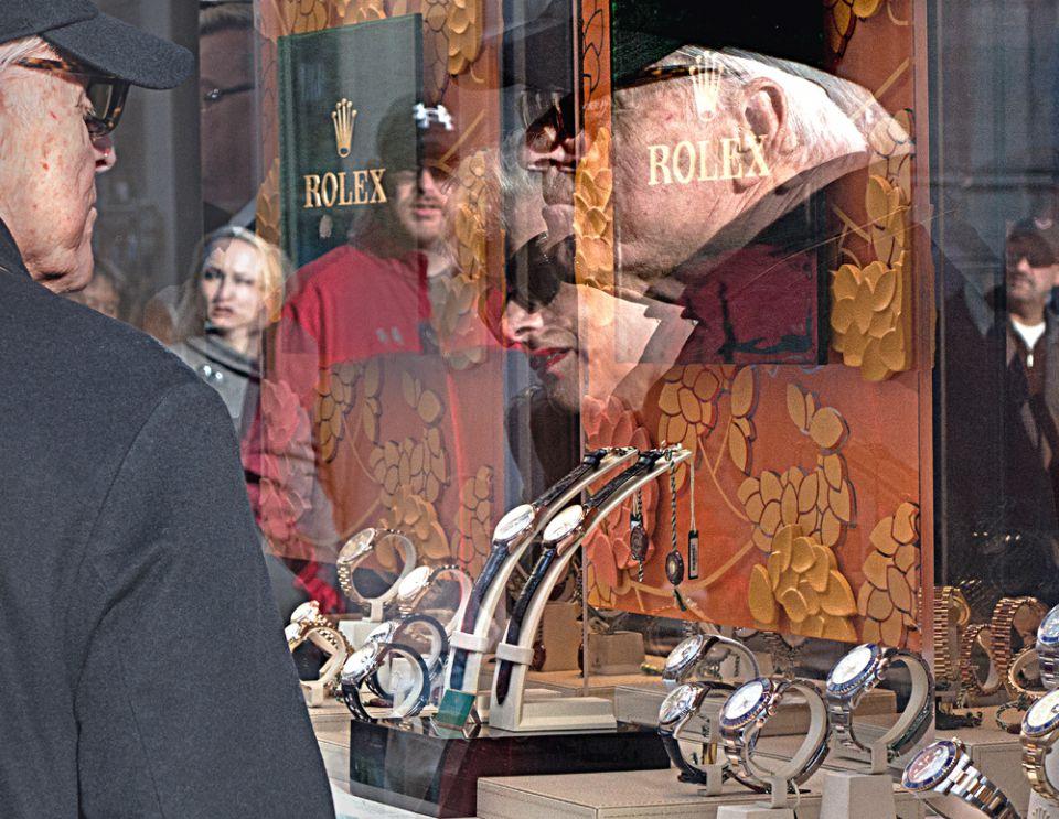 Rolex Window Shopping