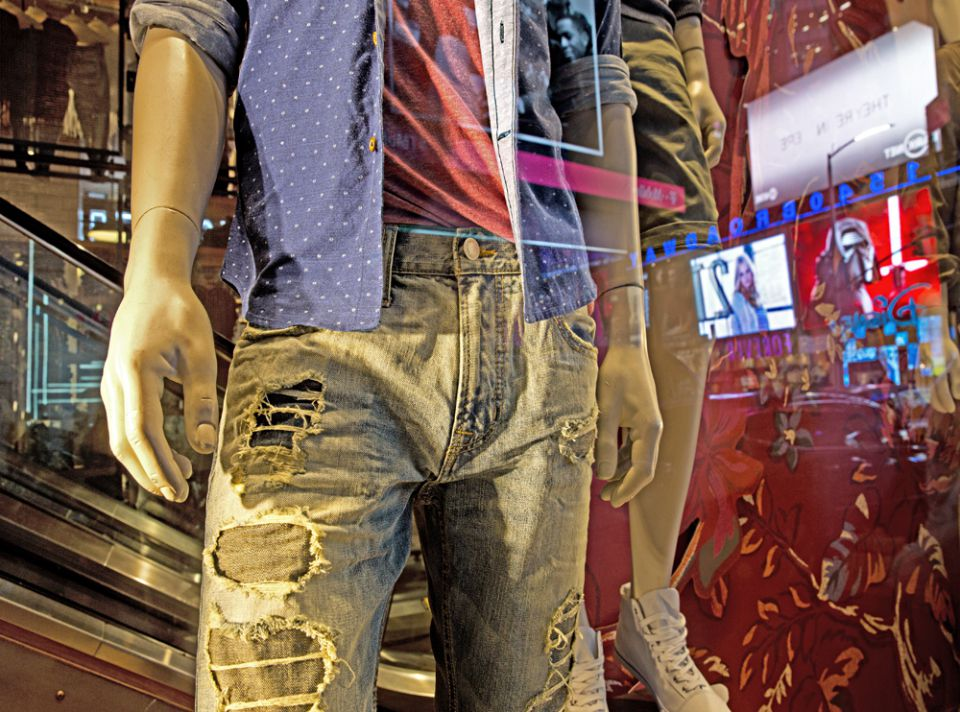 Torn Jeans NYC