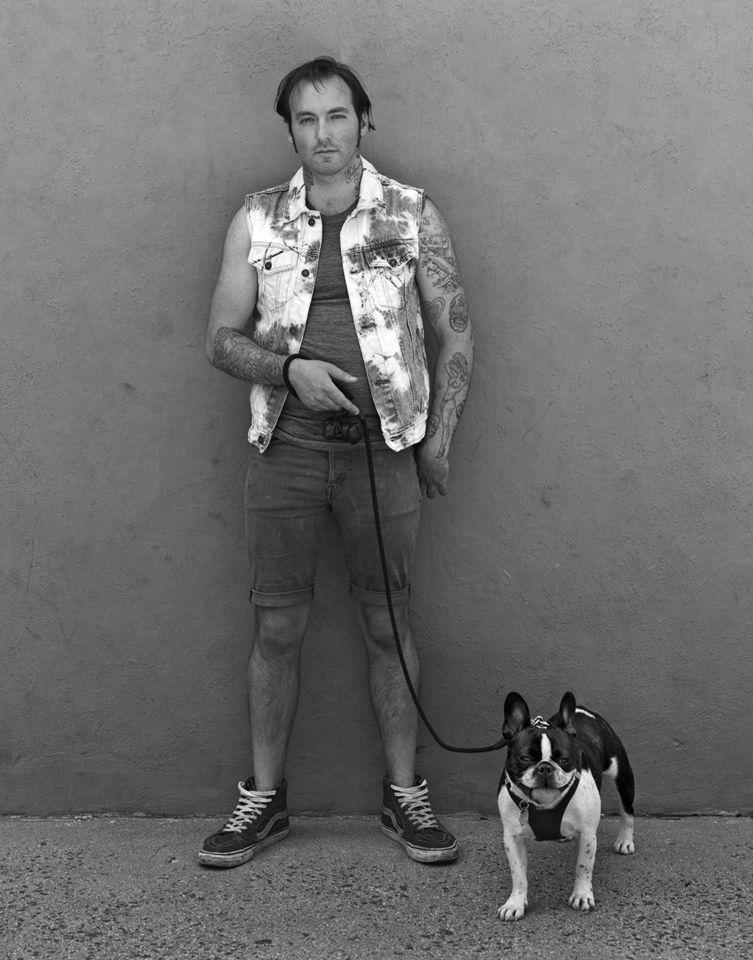Jeffrey with Bruno