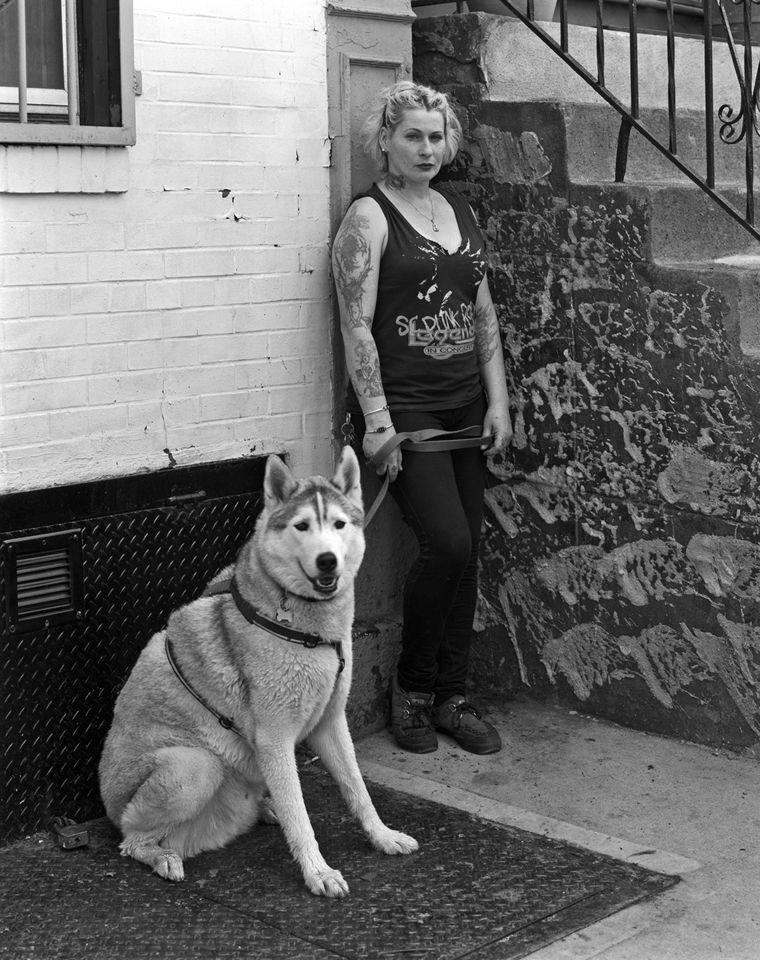 Joanie with Augustus Gloop
